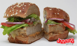 Janson's Drive-in Turkey Burger